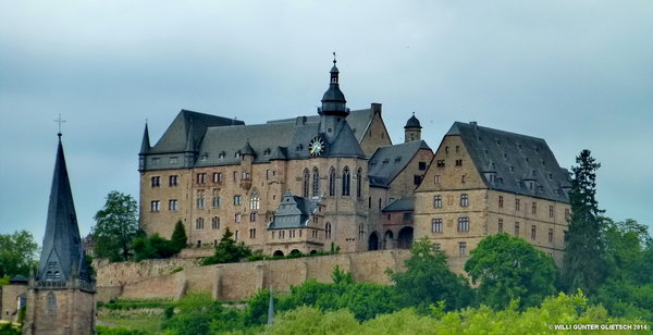 Schloß Marburg/Lahn am 15.5.2014