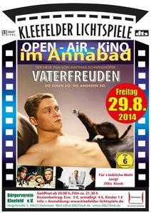 Open Air Kino im Annabad