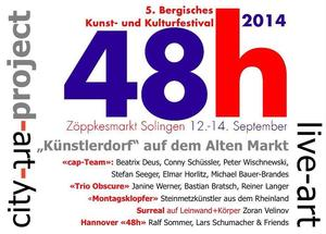 City art project 48h Solingen