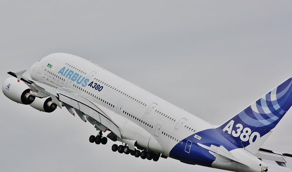 flugzeug, flugzeugspotter, airbus-a380