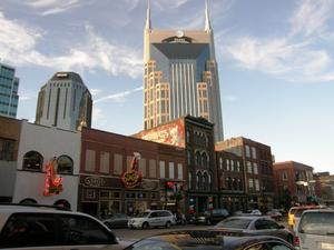 Musikkneipen am Broadway in Nashville