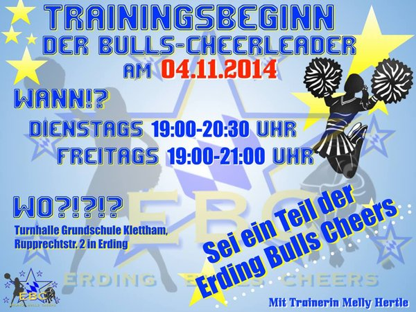 american-football, erding-bulls-juniors, erding-bulls-cheerleader