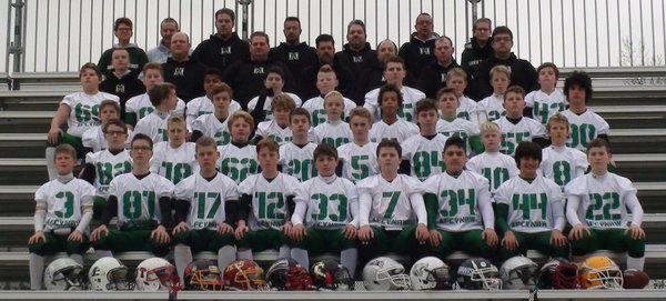 Green Machine U13 spielte in Wien den Next Generation Bowl 2014