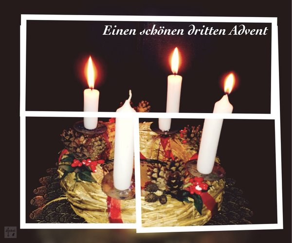 hobbyfotografie, advent, collage, grüße, adventsdekoration