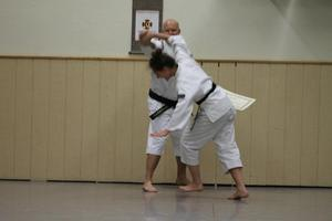 First black belt in Schwabmuenchen Dojo
