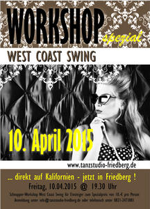 West Coast Swing - Workshop für Einsteiger