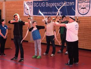 Faszination Bogensport:  Schnuppertraining beim SCUG
