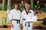 Wilfried S. und Roland Tögel 8. Dan Taekwon-Do