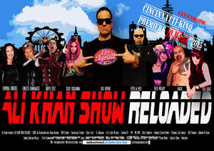 Plakat Ali Khan Show – Reloaded 2015 – 'Till The End'