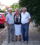 Adolf, Monika und Alfred Posselt 2008