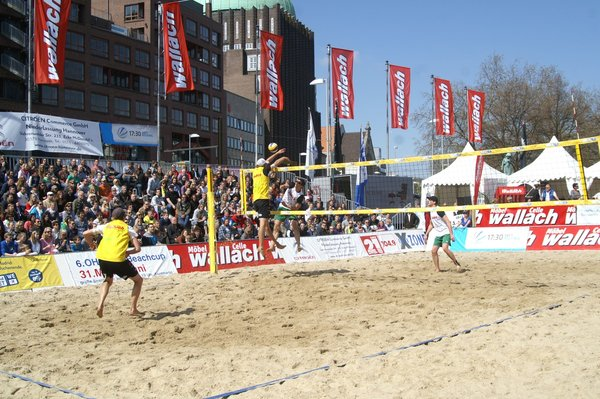 m bel wallach beachvolleyball cup hannover hannover. Black Bedroom Furniture Sets. Home Design Ideas