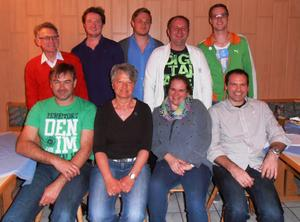 Hinten links: Klaus Lamprecht, Michael Kraus, Christian Boppel, Samir Babovic, Michael Bauer. Vorne links: Wolfgang Eisen, Claudia Wegele, Marion Denkel, Sven Schreiber