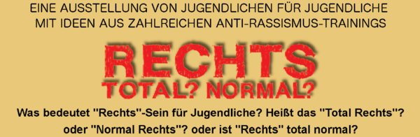 RECHTS - TOTAL! - NORMAL?
