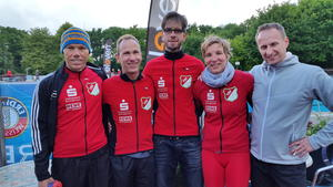 Triathleten des TSV Barsinghausen starten in Bokeloh und London