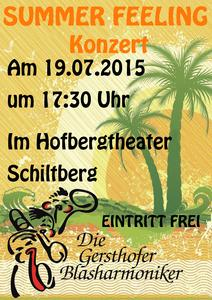 Summer Feeling - Sommerkonzert