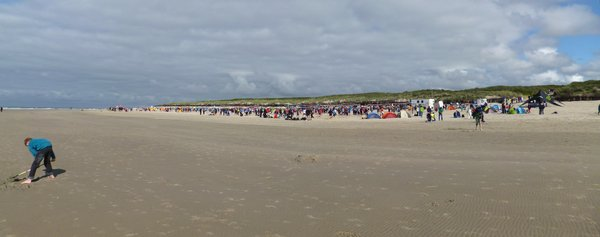 volleyball, strand, langeoog