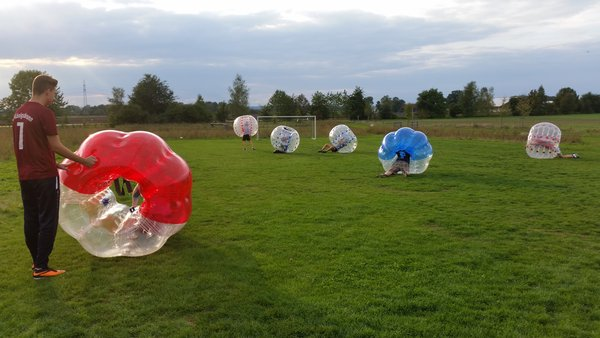 streetwork, bubblesoccer