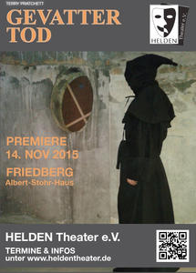 HELDEN Theater: Terry Pratchett 'Gevatter Tod (Mort)'