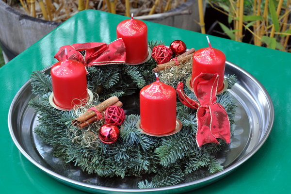 advent, adventskranz