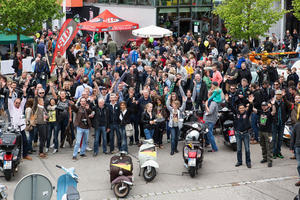 SIP Scootershop Open Day Samstag 7. Mai 2016