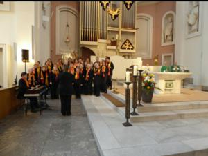 ThoMoRo Voices singen in der Basilika St.Clemens