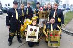 "Der Nordendorfer ""Narrahaufa"" als ""Robots on Tour"""