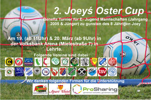 2. Joey´s Oster Cup in Lehrte