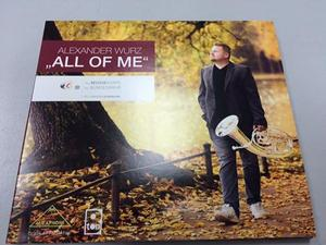 "CD-Cover ""All of me"""