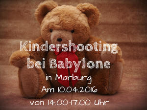 Kindershooting bei Baby1one am 10.04.2016