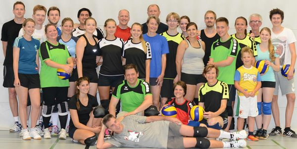Volleyball Mixed-Liga Augsburg - VC Neusäß