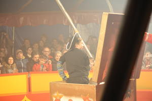 Die 'Piraten der Manege' in Steppach.
