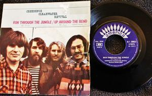 Vinyl-Single: Creedence Clearwater Revival 'Run Through The Jungle'