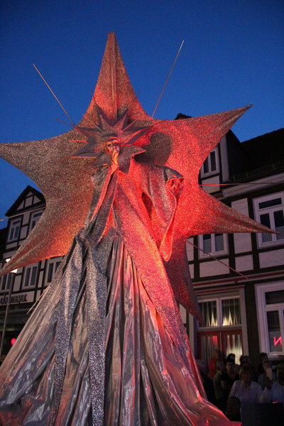Lichtparade in Burgdorf