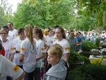 Startaufstellung Zoo Run – shorty (2 – 4 km).