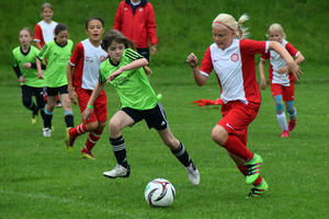 Internationaler Girls Cup trotzt dem Dauerregen