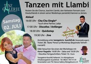 Workshop mit TV-Juror Joachim Llambi