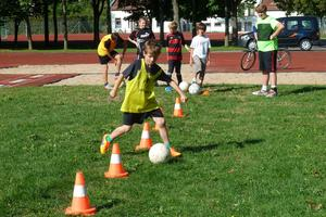 Cooles Trainingsprogramm am Vormittag, nachmittags super Bibelaction - das hat den Kids gefallen