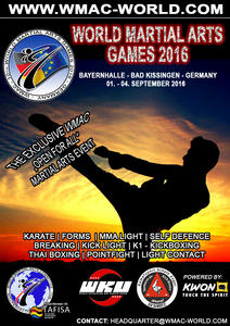 WORLD MARTIAL ARTS GAMES 2016