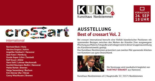 'Best of Crossart Vol. 2' im Kunsthaus Nordstemmen e.V.