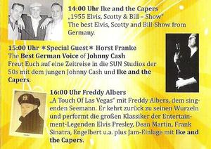 Elvis Weekend live mit Freddy Albers