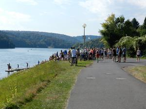 Bad Arolser Triathlon, am Twistesee.