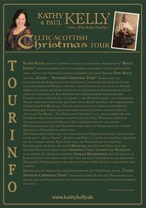 'Celtic-Scottish Christmas Tour' mit Kathy & Paul Kelly und dem Kinderchor der Musikschule Wunstorf am 10.12.2016