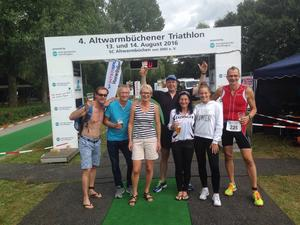 Triathlon am 14.8.2016 – TSV Pattensen Wellenkiller in Altwarmbüchen