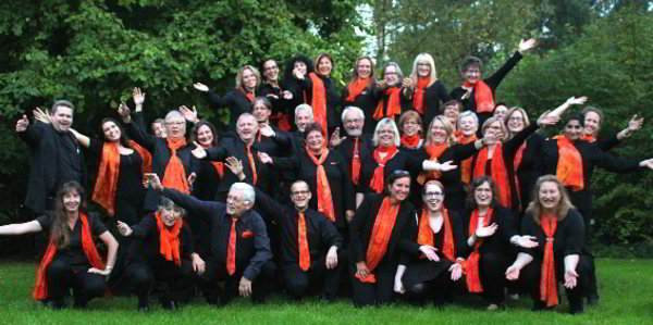 "Gospelchor ""Swing Low"" in der Markuskirche"