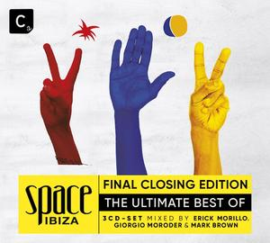 SPACE IBIZA 1989 – 2016  BEST OF – COMPILATION AND FINAL CLOSING EDITION 3 CD-Set & DOWNLOAD: OUT 04.11.2016