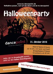Halloweenparty - KIDS & TEENS im dancepoint