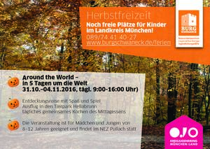 Herbstfreizeit | Around the world - in 5 Tagen um die Welt