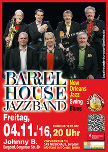 Traditional Jazz Night mit Barrelhouse Jazzband