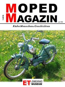 MOPED-MAGAZIN 2016 erschienen
