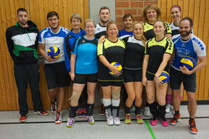 Volleyball Mixed-Liga Augsburg - Saisonbeginn 2016/ 2017